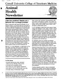 Animal Health Newsletter