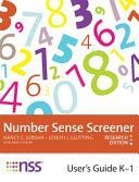 Number Sense Screener  NSS  User s Guide  K 1