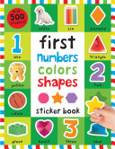 First 100 Stickers  First Numbers  Colors  Shapes