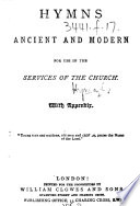 Hymns Ancient and Modern     With appendix Book