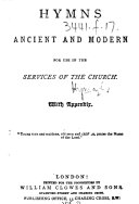 Hymns Ancient and Modern ... With appendix