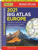 2021 Philip s Big Road Atlas Europe