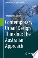 Contemporary Urban Design Thinking Book PDF