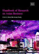 Handbook of Research on Asian Business