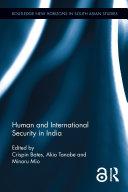 Human and International Security in India Pdf/ePub eBook