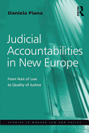 Judicial Accountabilities in New Europe