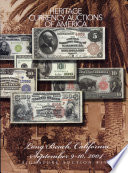 Heritage Currency Auctions of America Long Beach Signature Auction  No  354 Book