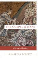 The Gospel of Mark Book