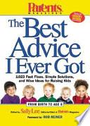Parents Magazine's The Best Advice I Ever Got