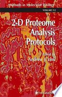 2-d Proteome Analysis Protocols