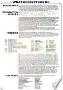Geoscience Documentation