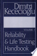 Reliability And Life Testing Handbook