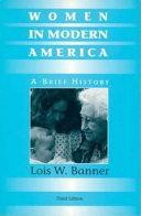 Women in Modern America Book