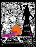 Horror Night Adults Coloring Book
