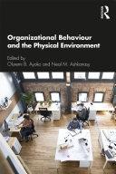 Organizational Behaviour and the Physical Environment Pdf/ePub eBook