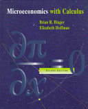 Cover of Microeconomics with Calculus