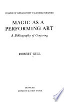 Magic as a Performing Art