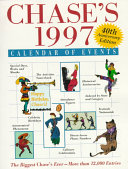 Chase s 1997 Calendar of Events  40th Anniversay Ed