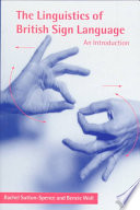 The Linguistics of British Sign Language  : An Introduction