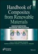 Handbook Of Composites From Renewable Materials Nanocomposites Book PDF