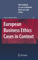 European Business Ethics Cases in Context