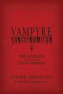 Vampyre Sanguinomicon