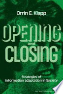 Opening and Closing Book