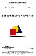 Espace et voix narrative