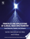 Principles and Applications of Clinical Mass Spectrometry Book