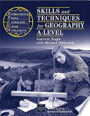 Skills And Techniques For Geography A Level Book PDF