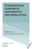 International Corporate Governance and Regulation