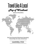 Travel Like a Local   Map of Windhoek  Black and White Edition