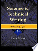 Science and Technical Writing Book