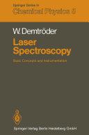 Laser Spectroscopy Pdf/ePub eBook