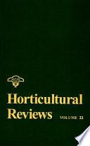 Horticultural Reviews Book