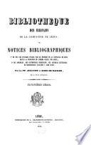 Bibliothèque des écrivains de la compagnie de Jésus ou notices bibliographiques