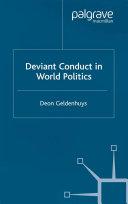 Deviant Conduct in World Politics