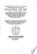De triangulis omnimodis libri quinque