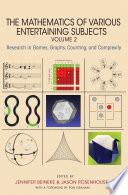 The Mathematics of Various Entertaining Subjects Book