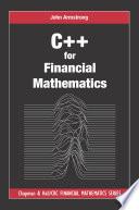 C   for Financial Mathematics Book