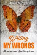 Writing My Wrongs Book