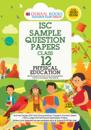Oswaal ISC Sample Question Papers Class 12 Physical Education  For 2020 Exam