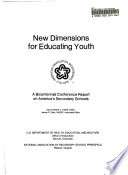 New Dimensions for Educating Youth