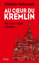 Pdf Au coeur du Kremlin Telecharger