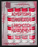 Cover of Advertising Communications & Promotion Management