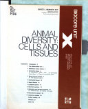 Animal Diversity  Cells and Tissues