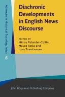 Pdf Diachronic Developments in English News Discourse Telecharger