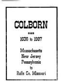 Colborn  1636 to 1987