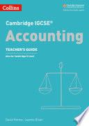 Cambridge IGCSETM Accounting Teacher's Guide (Collins Cambridge IGCSETM)