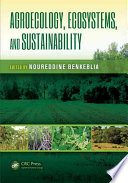 Agroecology  Ecosystems  and Sustainability